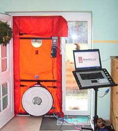 werking blowerdoor trebla services. Black Bedroom Furniture Sets. Home Design Ideas